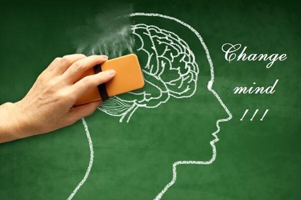 Thay đổi suy nghĩ của bản thân